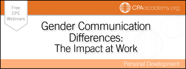 a study of gender differences in communication There are many studies on gender and the sociology of gender  the idea that  women and men have different communication styles have.
