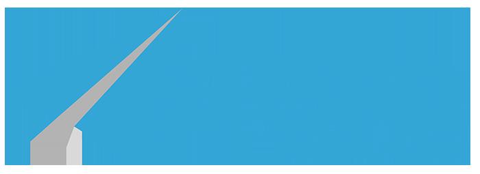 Aero logo reversed