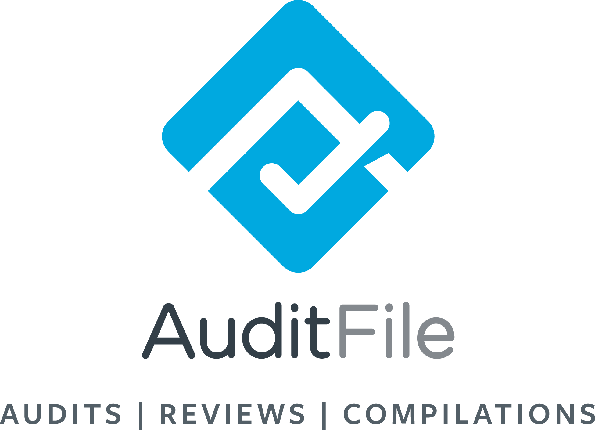 Auditfile logo vertical