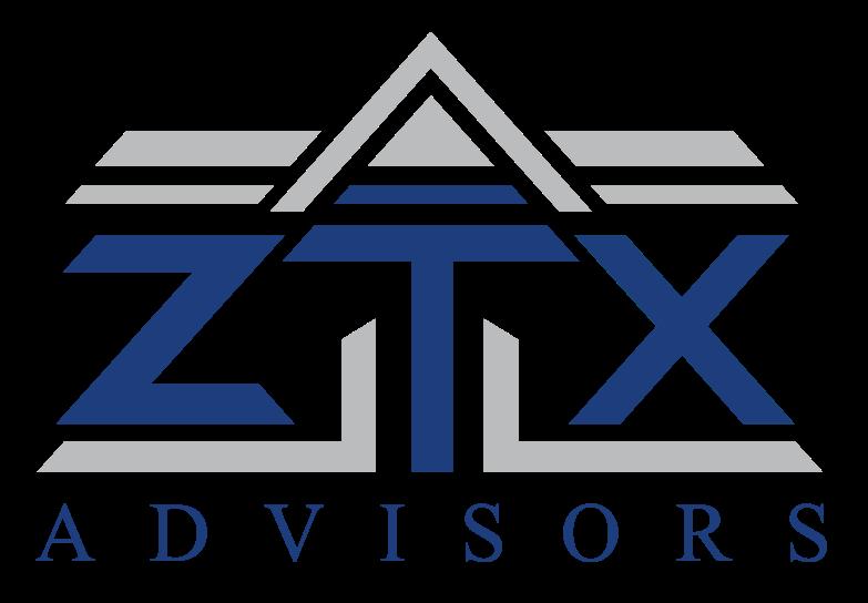 Ztx blue logo