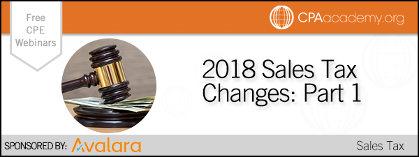 Avalara 2018changes