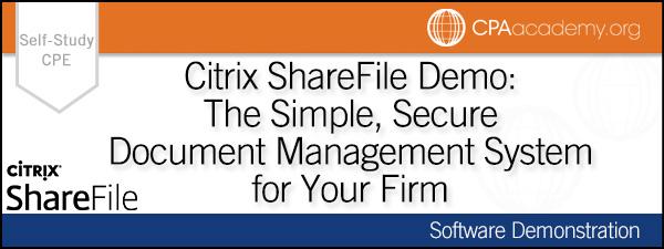 Citrix sharefile demo ss