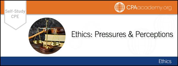 Ethicspressures selfstudy auditconduct