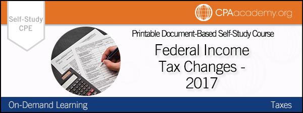 Federal taxchanges winn