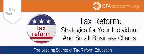 Keebler taxreformastrategy