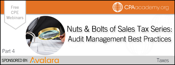 Nutsandbolts audit avalara