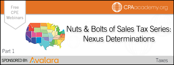 Nutsandbolts nexus avalara