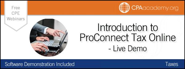 Proconnecttax intuitproconnect
