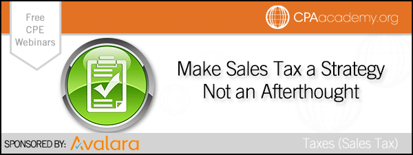Salestaxastrategy avalara