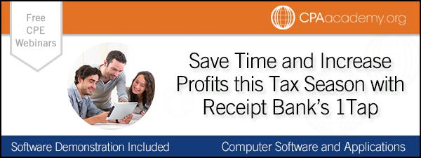 Savetime1tap receiptbank