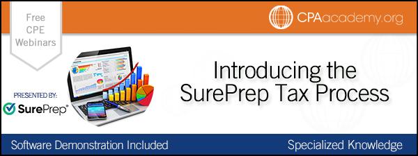 Surepreptaxprocess sureprep