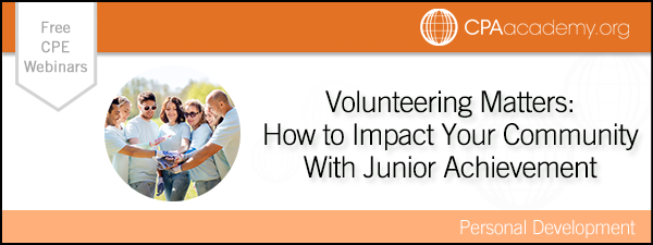 Volunteeringmatters juniorachievement